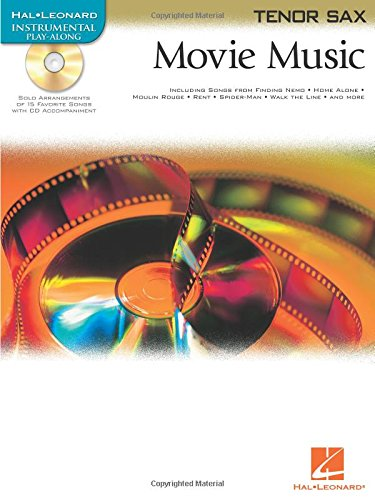 9780634083693: MOVIE MUSIC FOR TENOR SAX BK/CD (Hal Leonard Instrumental Play-Along)