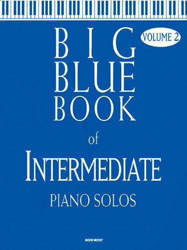 9780634083747: Big Blue Book of Intermediate Piano Solos - Volume 2