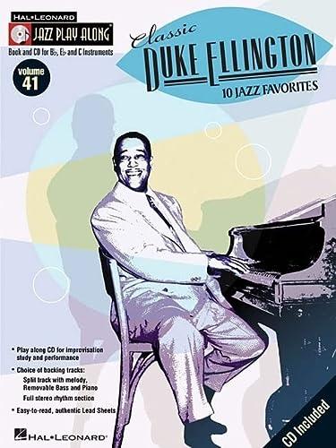 9780634083877: Classic Duke Ellington: Jazz Play-Along Volume 41