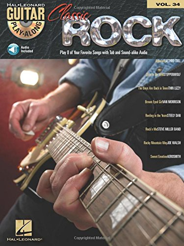 9780634083969: Classic Rock: Guitar Play-Along Volume 34: TAB