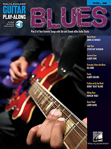 9780634084027: Blues: Guitar Play-Along Volume 38