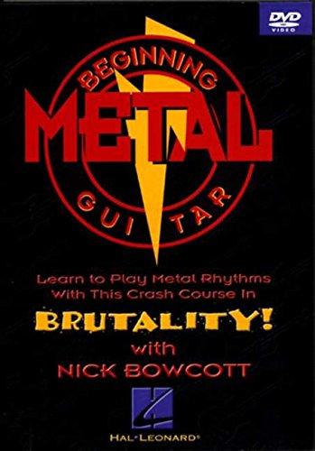 BEGINNING METAL GUITAR (DVD) Format: DvdRom