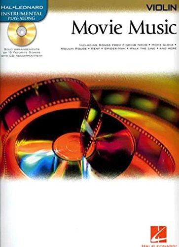 9780634084386: Movie Music: Violin (Hal-Leonard Instrumental Play-Along)