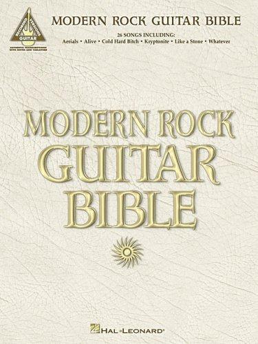 9780634084935: Modern Rock Guitar Bible