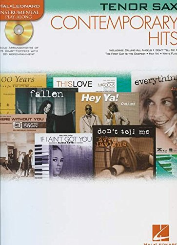 9780634085307: Contemporary Hits: for Tenor Sax Instrumental Play-Along Pack