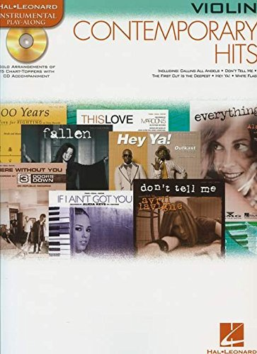 9780634085345: Contemporary Hits: for Violin Instrumental Play-Along Pack