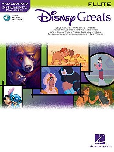 9780634085376: Disney Greats: for Flute Instrumental Play-Along Pack (Hal Leonard Instrumental Play-Along)