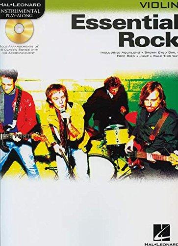 9780634085574: Instrumental Play-Along: Essential Rock (Violin)
