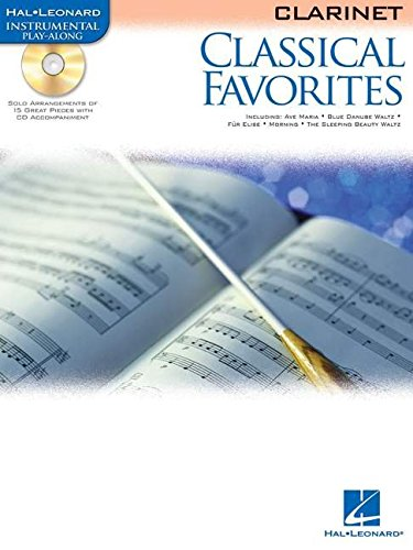 9780634085611: Classical Favorites (Hal Leonard Instrumental Play-Along) Clarinet