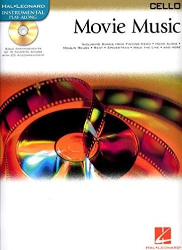 9780634085741: MOVIE MUSIC FOR CELLO BK/CD (Hal Leonard Instrumental Play-Along)