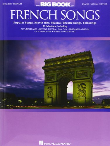 9780634086267: The Big Book Of French Songs English/French