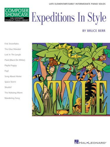 9780634086328: Composer Showcase: Expeditions in Style (Composer Showcase, Hal Leonard Student Piano Library)