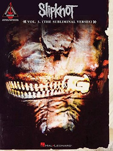 9780634086533: Slipknot: The Subliminal Verses: 3