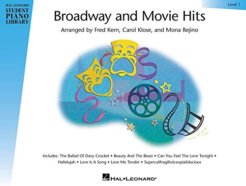 9780634086656: Broadway and Movie Hits - Level 1: Hal Leonard Student Piano Library