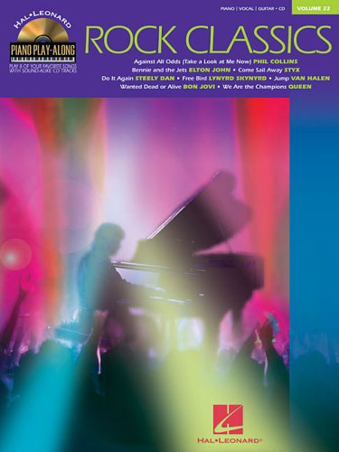 9780634086762: Rock Classics Piano +CD (Hal Leonard Piano Play-Along)