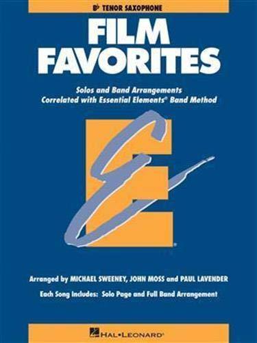 Film Favorites: Tenor Sax: Sweeney, Michael; Moss, John; Lavender, Paul