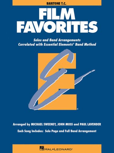 9780634087035: FILM FAVORITES BARITONE T.C. (Essential Elements Band Method)