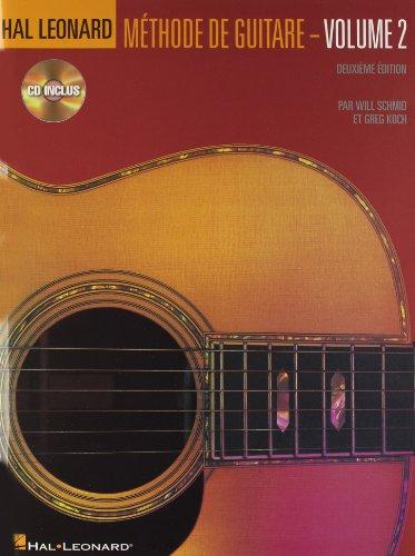 9780634087257: Hal Leonard Guitar Method Book 2: French Language Book / Cd