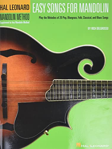 9780634087387: Easy Songs for Mandolin: Supplementary Songbook to the Hal Leonard Mandolin Method (Hal Leonard Mandolin Method: Supplement to Any Mandolin Method)