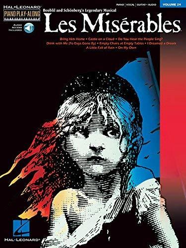 9780634087424: Les Miserables: Piano Play-Along Volume 24 (Hal Leonard Piano Play-Along Book & Online Audio)