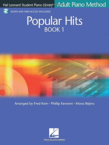 9780634087455: Popular Hits Book 1: Hal Leonard Student Piano Library Adult Piano Method (Hal Leonard Student Piano Library (Songbooks))