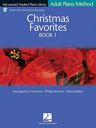Christmas Favorites Book 1: Hal Leonard Student Piano Library Adult Piano Method Book & Online ...