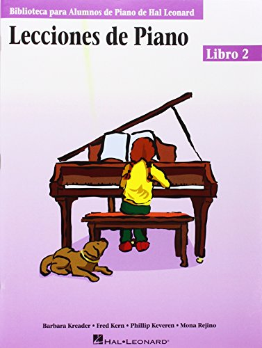 9780634087585: Piano Lessons Book 2 - Spanish Edition: (Lecciones de Piano Libro 2) (Educational Piano Library) (Biblioteca Para Alumnos de Piano de Hal Leonard)