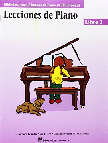 9780634087585: Piano Lessons Book 2 - Spanish Edition: (Lecciones de Piano Libro 2) (Educational Piano Library) (Biblioteca Para Alumnos de Piano de Hal Leonard)