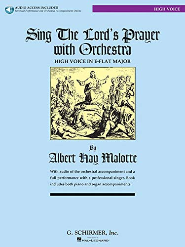 9780634087615: Sing the Lord's Prayer with Orchestra for High Voice (Book with CD)