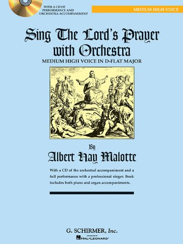 9780634087622: Sing the Lord's Prayer with Orchestra for Medium High Voice (Book with CD)