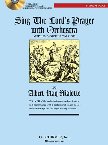 9780634087639: Sing the Lord's Prayer with Orchestra for Medium Voice (Book with CD)