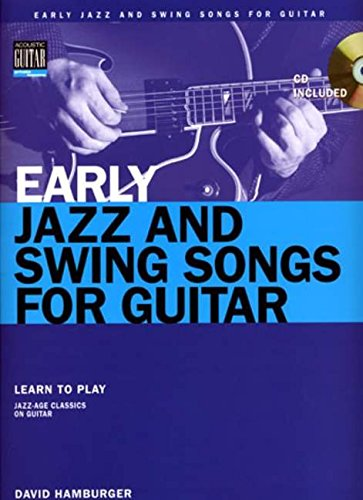 9780634087752: Early Jazz And Swing Songs For Guitar