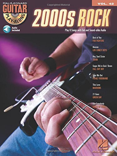 9780634087905: Guitar Play Along Vol.42 2000'S Rock Tab CD