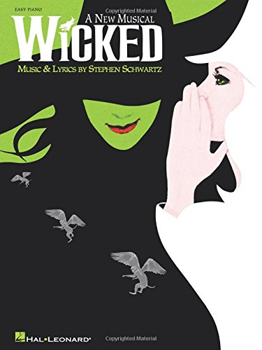 9780634087936: Wicked: A New Musical - Easy Piano Selections (Easy Piano Vocal Selections)
