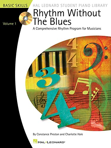 9780634088032: Rhythm Without the Blues Bk/Cd Volume 1 (Hal Leonard Student Piano Library (Songbooks))