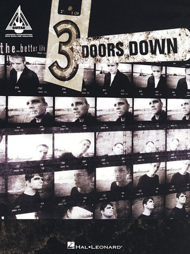 9780634088117: 3 Doors Down Better Life Gtr Tab Bk