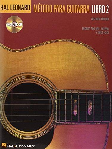 9780634088810: Hal Leonard Metodo Para Guitarra - Libro 2: Spanish Edition Book/CD Pack