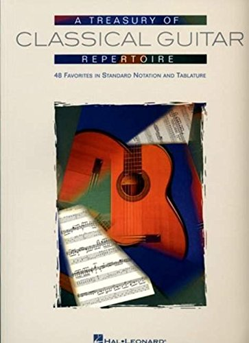9780634089121: Treasury of Classical Guitar Repertoire Tab & Solf.