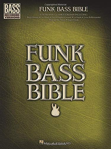 9780634089251: Funk Bass Bible (Bass Recorded Versions)