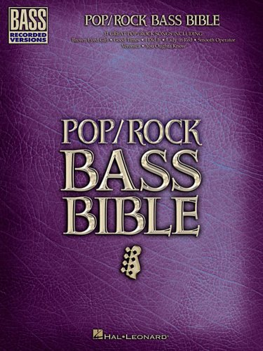9780634089305: Pop/Rock Bass Bible