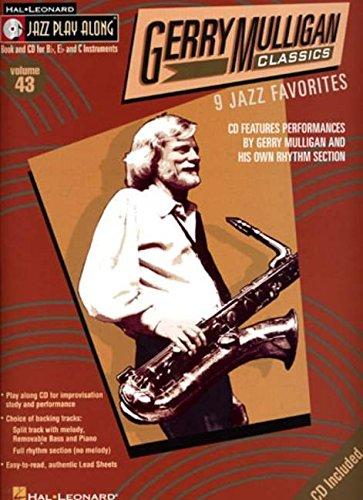 9780634089619: Gerry Mulligan Classics: 43