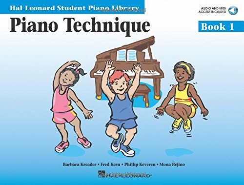 9780634089749: Piano Technique Book 1 - Book with Online Audio: Hal Leonard Student Piano Library