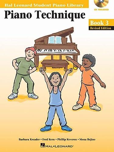 Piano Technique Book 3 Book/Enhanced CD Pack: Hal Leonard Student Piano Library: Hal Leonard Corp.