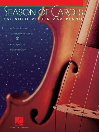 9780634089787: Season of Carols: Easy Solo Violin and Piano