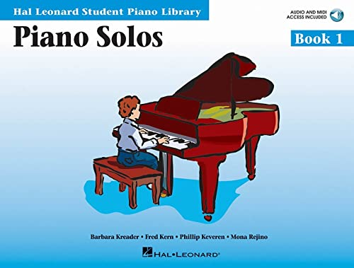 9780634089800: Piano Solos Book 1 - Book with Online Audio and MIDI Access: Hal Leonard Student Piano Library