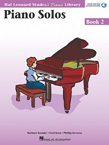 9780634089817: Piano Solos Book 2 - Book/CD Pack: Hal Leonard Student Piano Library (Hal Leonard Student Piano Library (Songbooks))