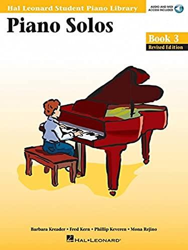 9780634089824: Piano Solos Book 3 Audio Online (Hal Leonard Student Piano Library (Songbooks))