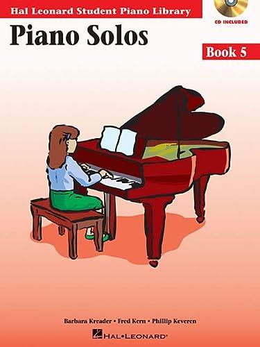 9780634089848: Piano Solos Book 5 - Book/Online Audio: Hal Leonard Student Piano Library