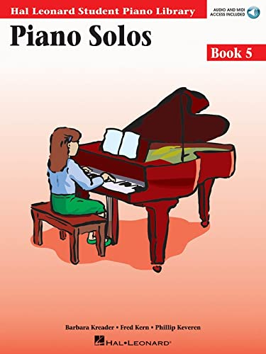 9780634089848: Piano Solos Book 5 - Book/Online Audio: Hal Leonard Student Piano Library