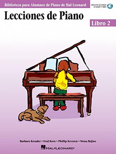 9780634089855: Lecciones De Piano: Libro 2 (book/CD) (Biblioteca Para Alumnos de Piano de Hal Leonard)